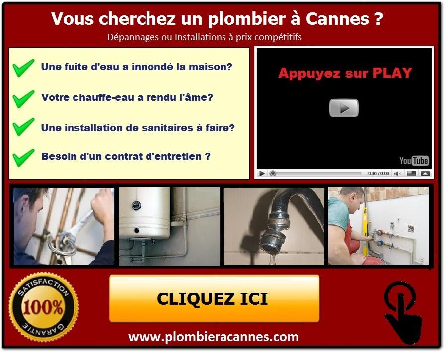 Plombier à Cannes Urgences Dépannages